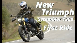 3. 2019 Triumph Scrambler 1200 First Ride