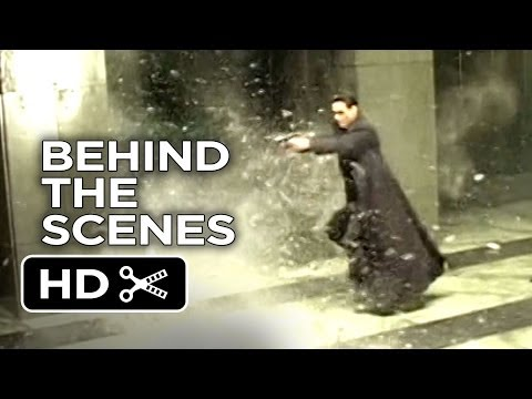 The Matrix Behind The Scenes - Shooting (1999)  - Keanu Reeves Movie HD