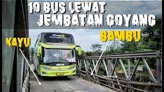Video DRIVER PENUH NYALI! PENUH ADRENALIN! 10 Unit Bus Subur Jaya Melewati JEMBATAN KAYU BERBAHAYA MP3, 3GP, MP4, WEBM, AVI, FLV Mei 2019