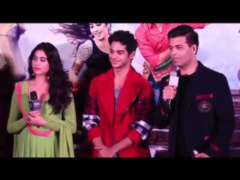 Dhadak Movie 2018 | Dhadak Trailer Lunch Event | Janhvi kapoor,Ishaan Khatter & Karan Johar