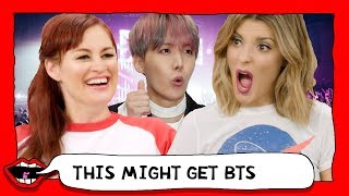 Video REACTING TO BTS FOR THE FIRST TIME (K-POP) with Grace Helbig & Mamrie Hart MP3, 3GP, MP4, WEBM, AVI, FLV Juli 2018