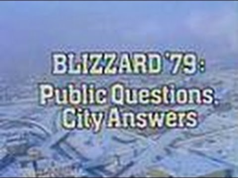 "WBBM Channel 2 News Special Report - ""Blizzard '79: Public Questions, City Answers"" (Part 1, 1979)"