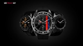 LG Watch W7: Watch Face Introduction