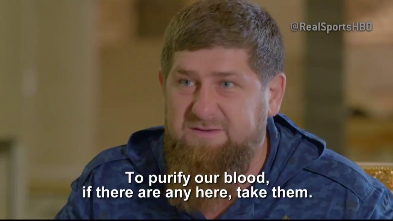 Kadyrov - Take the Gays to Canada