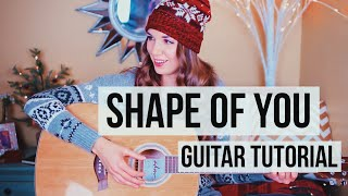 Video Shape of You - Ed Sheeran // Guitar Tutorial (Chords + Picking) download in MP3, 3GP, MP4, WEBM, AVI, FLV January 2017