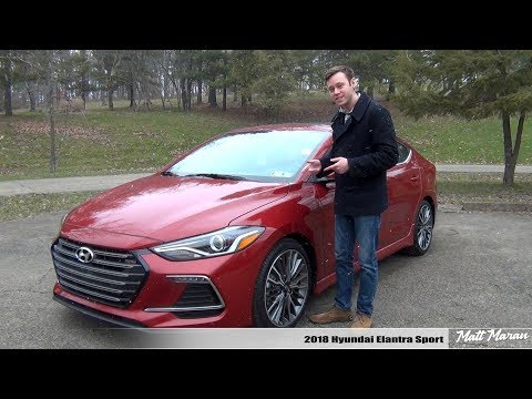 Review: 2018 Hyundai Elantra Sport - Value-Packed Sport Compact