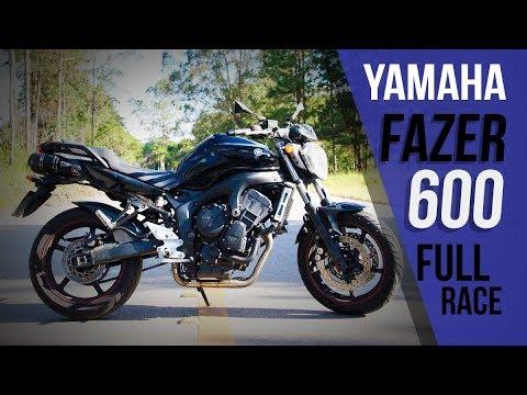Yamaha Fazer 600 a papa Hornet com Full Race JESKAP GO GO GO (видео)