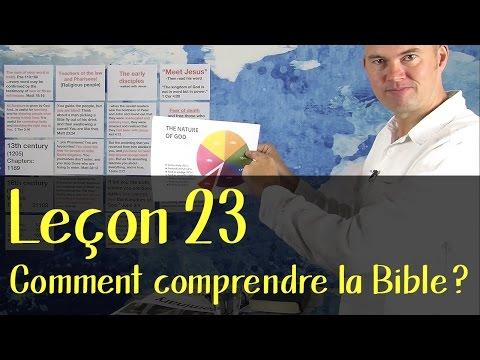 Torben Sondergaard - Pionner School 23 - Comment comprendre la Bible?