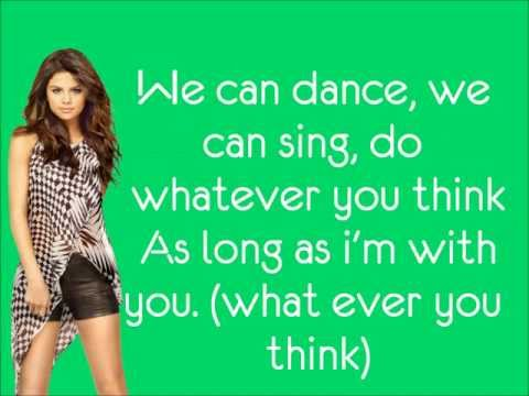 Selena Gomez & The Scene - We Own The Night lyrics