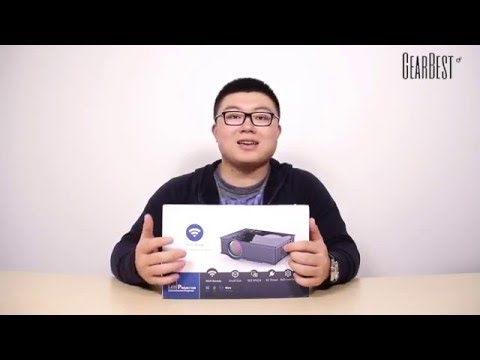 Gearbest Review: UNIC UC46 Mini WiFi Projector Review - Gearbest.com