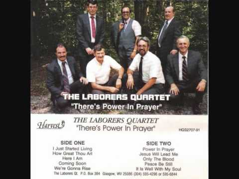 The Laborers Quartet - Only The Blood.wmv