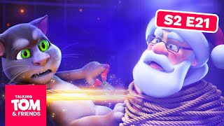 Video Talking Tom and Friends -  Saving Santa | Season 2 Episode 21 MP3, 3GP, MP4, WEBM, AVI, FLV September 2019