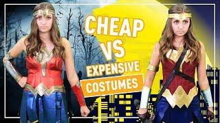 CHEAP vs. EXPENSIVE HALLOWEEN COSTUMES  👻🎃💀   Kamri Noel