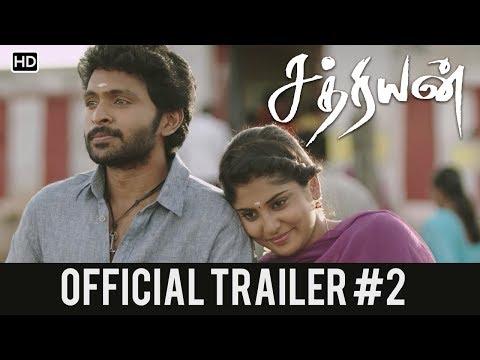 Sathriyan Official Trailer #2 | Vikram Prabhu, Manjima Mohan