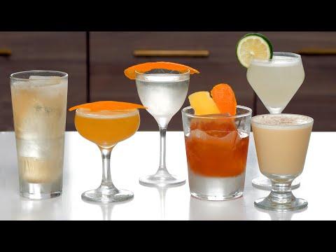 The 6 Famous Cocktails Volume 1