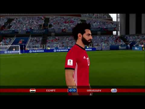 FIFA 18 World Cup Part 1:  Egypt V Uruguay - Nintendo Switch