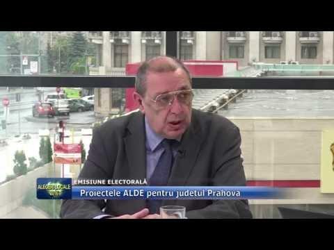 Emisiunea Electorală – 25 mai 2016 – Horia Toma, ALDE
