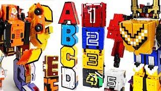 Video Alphabet combine transformers VS Power Rangers Zyuohger number cube - DuDuPopTOY MP3, 3GP, MP4, WEBM, AVI, FLV Oktober 2017