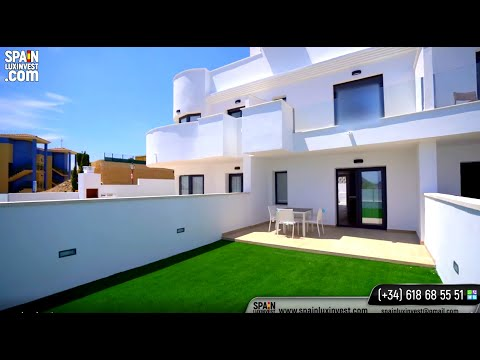От 159900€/Новые дома в Бенидорме 2020/Недвижимость в Испании/Новостройки - таунхаусы в Финестрате