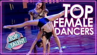 Video BEST FEMALE DANCERS EVER! Top Auditions From America's Got Talent, Britain's Got Talent & More! MP3, 3GP, MP4, WEBM, AVI, FLV April 2019