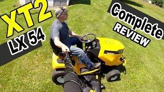 5. Cub Cadet XT2 Lawn tractor review - XT2 LX54 FAB