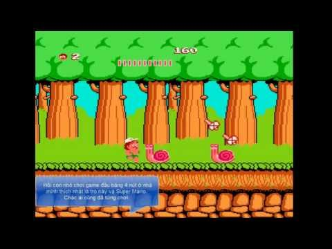 Game 4 nút huyền thoại - Adventure Island. Ai còn nhớ?? :D