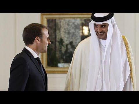 """Hypocrisie – Emmanuel Macron au Qatar : business et lutte """"contre le terrorisme"""""""