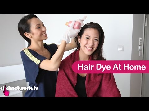 LOREAL HAIR DYE - Shu An tries out a home hair dye kit, and is giving away L'Oreal Paris hair products! Brought to you by L'Oreal Paris.