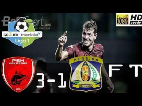 PSM Makassar vs Persiba Balikpapan 3-1 All Goals & Highlights - Liga 1 Indonesia 24/10/2017