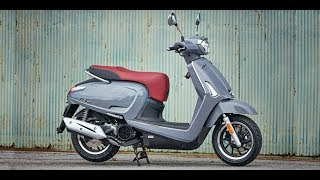 2. Breathtaking 2018 KYMCO Like 150i