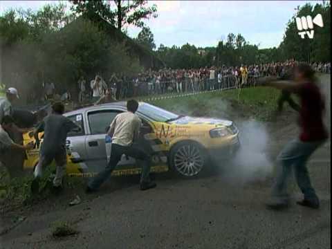 26. Rajd Krakowski 2004 - best of crash!