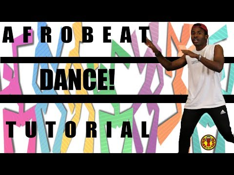 AFRO BEAT DANCE TUTORIAL | GWARAGWARA, SHOKI, etc | JustinUg