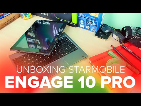 Starmobile Engage 10 Pro Unboxing
