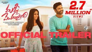 Malli Modalaindi Official Trailer | Sumanth, Naina | KeerthiKumar | Anup Rubens