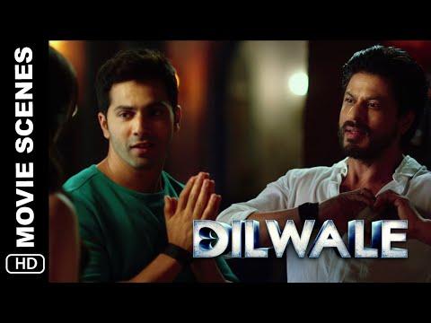 Bada Bhai   Dilwale   Movie Scene   Shah Rukh Khan, Varun Dhawan, Kriti Sanon, Kajol