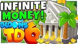 MONKEY WALL STREET *INFINITE MONEY STRATEGY* ROUND 100+ - Bloons TD 6 (BLOONS TOWER DEFENSE 6)