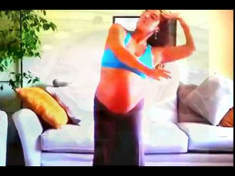 Dancing Meditation 8 Months Pregnant! | Fat Belly 2014