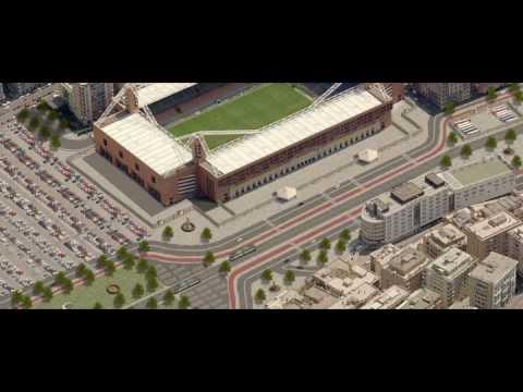 Proyecto de ampliación del estadio Ferraris