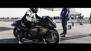 10. 2008 Suzuki Hayabusa goes 230 MPH at The Texas Mile