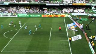 NEYMAR passes 6 players and scores - Coritiba 1x2 Santos [16 Sept 2012]