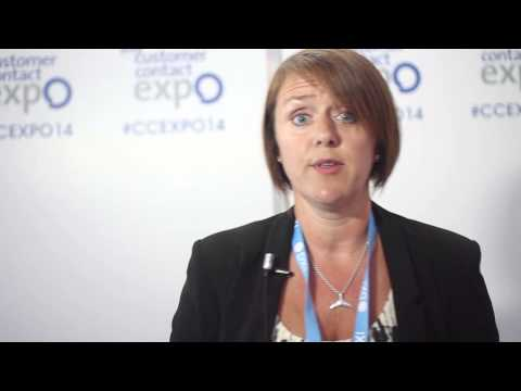 Interview with Sharon How from Barbour ABI at Customer Contact Expo 2014
