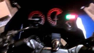 10. 96 Kawasaki Ninja 250R, loses power when wheel is turned right.