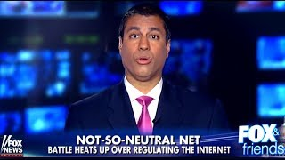 FCC Chairman Ajit Pai has lied to the public about his pro-corporate plan to ruin the internet by rolling back Title II net neutrality regulations. He received some help from Fox News when they brought him on 'Fox & Friends' and allowed Pai to spew lies with no follow-up questions. Fox News' hosts also lied about the state of broadband in America, and presented viewers with misleading poll results in an effort to further their agenda. In this segment we attempt to dispel the abundance of misinformation disseminated by Pai and Fox News.Sources:https://www.theverge.com/2016/2/5/10924268/verizon-go90-net-neutralityhttp://ncta.morningconsultintelligence.com/imports/170409_topline_NCTA_v2_TB.pdfVerizon's Propaganda Piece on Net Neutrality: https://www.youtube.com/watch?v=q90HpijIP_Q************************Visit Our Website: http://www.humanistreport.com/Follow Us on Twitter: http://www.twitter.com/HumanistReportLike Us on Facebook: http://www.facebook.com/humanistreportSupport the Show: http://www.humanistreport.com/support.htmlBecome a Patreon: http://www.patreon.com/humanistreportDownload Our Podcast on iTunes: https://itunes.apple.com/us/podcast/humanist-report-podcast-episode/id1012568597?i=345667843&mt=2************************Help Us Grow by Using These Links to Shop (We Earn Commission):Support Us by Shopping on Amazon! Bookmark this Link:http://amzn.to/1SGruTYSign Up for a FREE 30-Day Trial to GameFly:https://www.gamefly.com/#!/registration?adtrackingid=pbridge001Try Lootcrate if You're a Geek or Gamer:http://www.trylootcrate.com/click.track?CID=327723&AFID=372698&AffiliateReferenceID=HumanistReportWeb Hosting for Only $3.95 with HostGator:http://partners.hostgator.com/c/171810/177309/3094************************The Humanist Report (THR) is a progressive political podcast that discusses and analyzes current news events and pressing political issues. Our analyses are guided by humanism and political progressivism. Each news story we cover is supplemented with thou