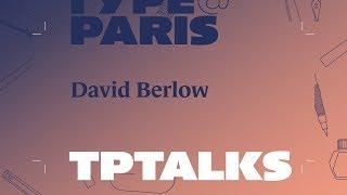tptalks18: David Berlow | Adobe France