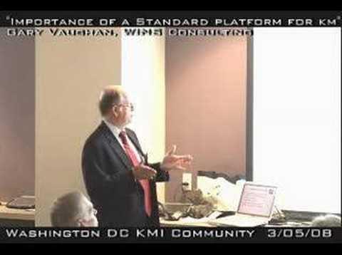 Importance of a Standard Technology Platform for KM – 2