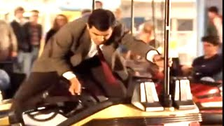 Mr. Bean - Bumper Car Fun