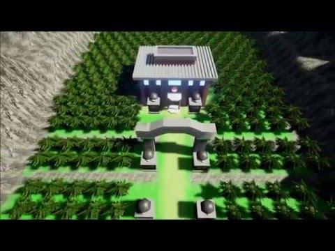 VIDEO: Mladík navrhl v Unreal Engine 4 originální mapu, kterou známe z Pokémonů