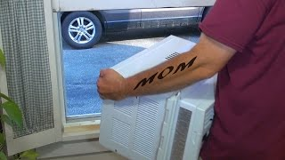 HOW TO INSTALL AN AIR CONDITIONER