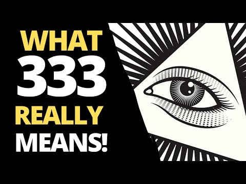 13 HIDDEN Angel Number 333 Meaning: KEEP SEEING 333?