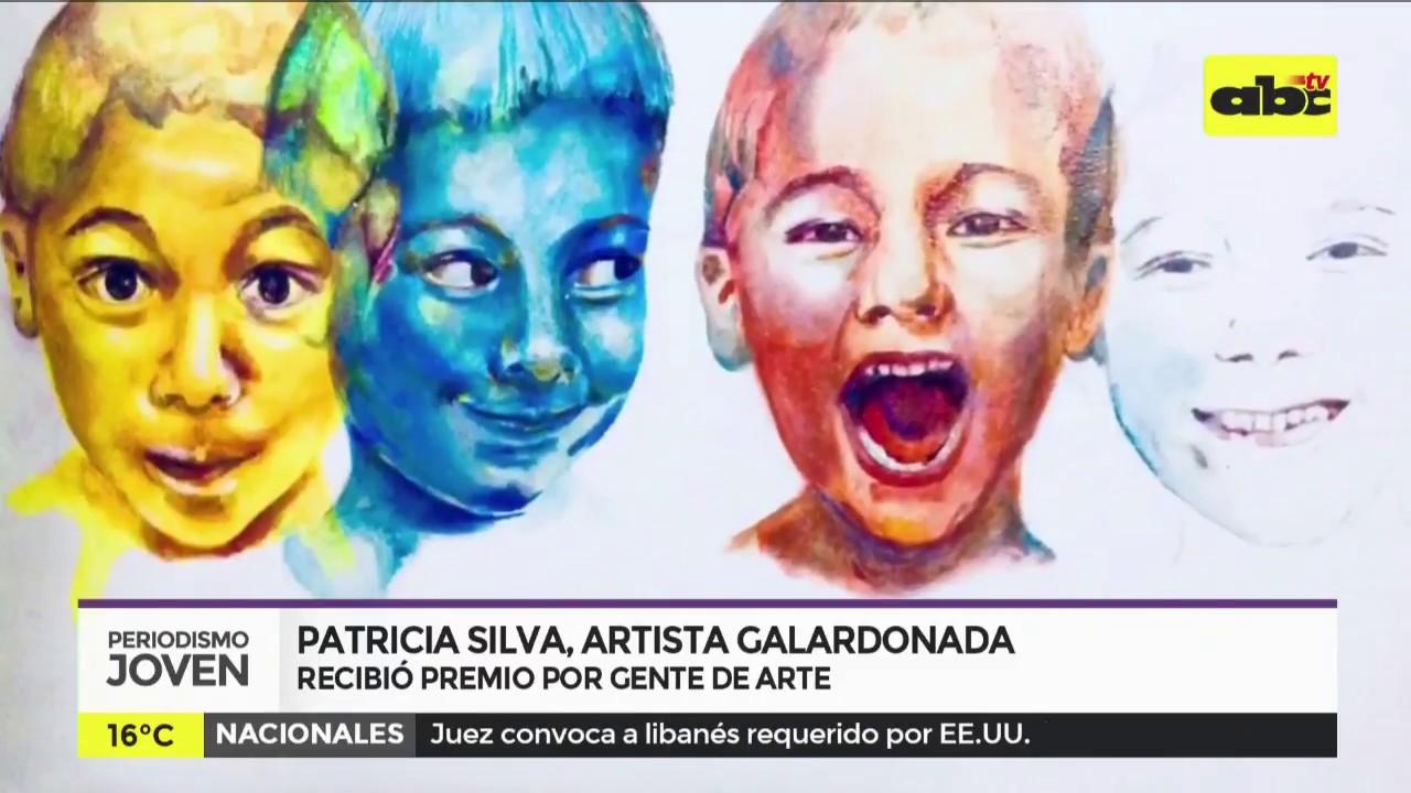 Patricia Silva, artista galardonada por Gente de Arte